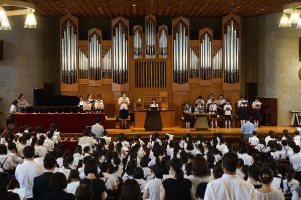 平和を祈る礼拝 | 学校法人捜真...